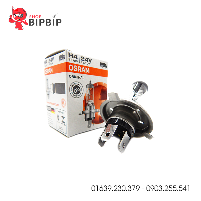 Bóng đèn ô tô Osram H4 24V chính hãng giá rẻ