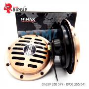 Còi đĩa NiMax 12V chính hãng