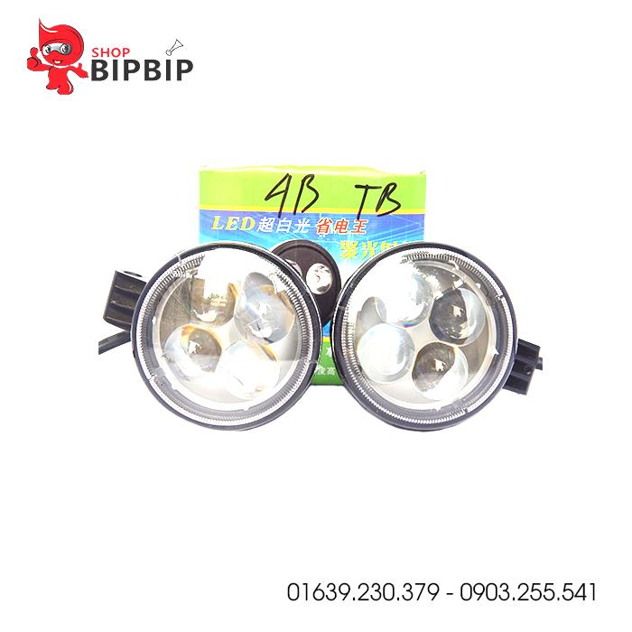 Bóng đèn led trợ sáng 4 bóng tròn chính hãng giá rẻ