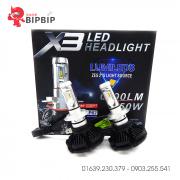 Bóng đèn pha led X3 chính hãng giá rẻ